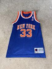 Patrick Ewing campeón de Nueva York Knicks Jersey de la Juventud M (10-12)