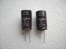 Kondensator 4700 µF 35V      ( 2 STCK.)  !!!! Die guten !!!!!!!SAMWHA