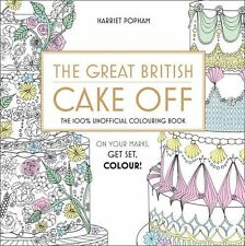 The Great British Cake Off Adult Colouring Book