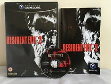 RESIDENT EVIL 2 Nintendo GAMECUBE Wii GAME Pal COMPLETE ~ 1st Class P&P