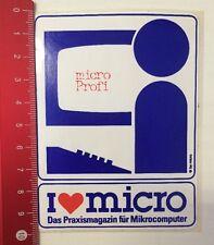 Aufkleber/Sticker: Micro Profi - Das Praxismagazin Für Mikrocomputer (05031649)