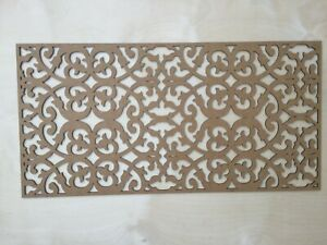 Radiator Cabinet Decorative Screening Radiator Grilles MDF 3mm and 6mm item S3