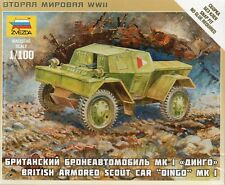 Zvezda 1/100 MkI Dingo British Armoured Scout Car Z6229