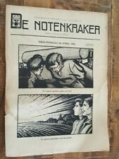Historic Original Wwi Dutch Magazine - De Notenkraker - No. 4917 - 15 Apr 1916