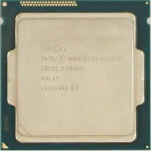 Intel Xeon E3-1270-V3 - 3.5Ghz 4C/8T Socket LGA1150 CPU E3 1270 V3