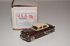 U.S.A. MODELS MOTOR CITY USA-5 CHEVROLET BEL AIR FOUR DOOR 1954 MINT BOXED