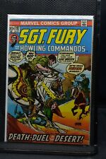 Sgt Fury and His Howling Commandos #107 Marvel Comic 1973 Stan Lee Ayers 5.5