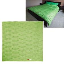 Black Wolf Blanket 210x210cm Camping Outdoor Doona Sleeping Bag Quilt
