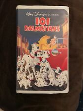 101 Dalmatians Walt Disney's Black Diamond Classic Collection (VHS, 1992) B10