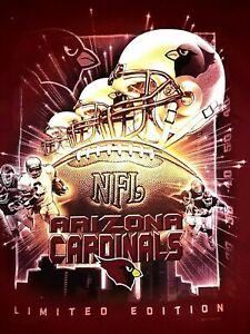 NFL, ARIZONA CARDINALS VINTAGE T SHIRT, NEW, LICENSED, LARGE, LIMITED EDITION