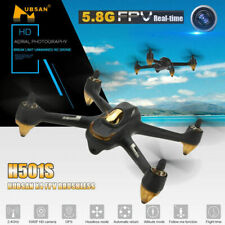 Hubsan H501S Quadcopter 5.8G FPV Brushless 1080P Headless GPS Drone,BNF Edition