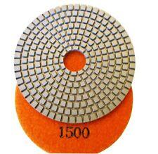 "4"" premium concrete diamond polishing pad/pads 1500 grit"