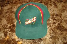 SEATTLE SUPERSONICS SONICS SPORTS SPECIALTIES   90'S HAT CAP VINTAGE SNAPBACK