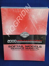 2000 Harley Davidson softail heritage fatboy night train fxsts service manual
