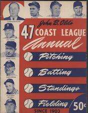 John B. Olds 1947 Coast League Annual