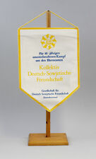 9990136 GDR Pennant 10 Years Fight Collective Deutsch-Sowjetische Friendship Dsf