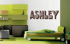 Leopard Print Animal Pattern Personalized Letters Custom Wall Decal Sticker