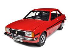 1975 OPEL ASCONA B SR RED 1/18 DIECAST MODEL CAR BY SUNSTAR 5381