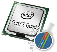 INTEL QUAD CORE 2 2. 5 GHZ Q9300 S.775 Processore + PASTA conduttiva-calore