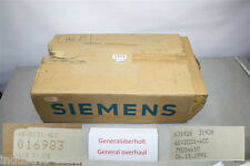 SIEMENS SINUMERIK 6EV2031-4CC  6EV2031-4DC 6EW100-4AB POWER SUPPLY generalüberho