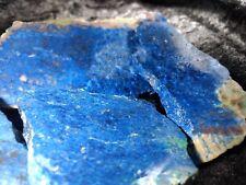 GORGEOUS BLUE SHATTUCKITE ROUGH -SLABS  DEMOCRATIC REPUBLIC CONGO 324 grams