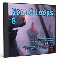 Cinematic Collection Sound Loops 8 Logic Pro FL Studio Ableton Cubase WAV Loops