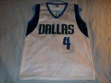 Michael Finley 4 Dallas Mavericks Park Antony White Jersey Men's Medium used