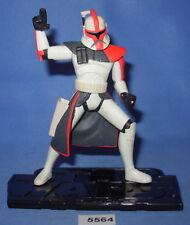 "Star Wars 2005 ARC TROOPER Clone Wars Animated Series 3.75""  Figure #1"