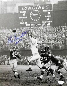 Gino Marchetti Baltimore Colts Signed 11x14 Glossy Photo JSA Authenticated