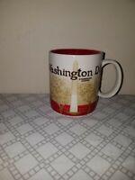 Starbucks Washington DC Mug Coffee Cup 2010 Icon Collector Series 16 Oz.