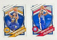 2020-21 Panini Donruss Basketball Complete Players 2 Card Lot Joel Embiid Gobert