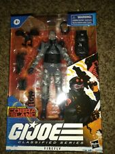 GI Joe Classified Series Special Missions Cobra Island Firefly Target In Hand