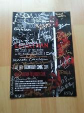 hellraiser - cast signed poster autograph - barker zombie horror leviathan