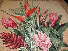 Hawaian Flowers -  Wall Tapestry/Hanging Made in  USA