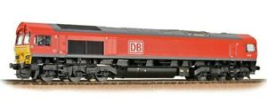 Bachmann 32-734BSF - Class 66/0 66117 DB Cargo Red Livery DCC Sound Fitted T48Po