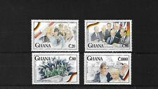 GHANA 1992 REUNIFICATION OF GERMANY MNH, SG1670/73