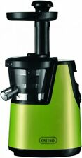 Slowjuicer Entsafter Modell GREENIS BPA-frei grün