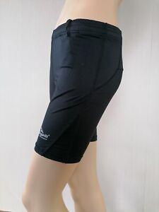ROGELLI Damen Sporthose Dynacool Xs (32/34) schwarz wie neu Shorts Radlerhose