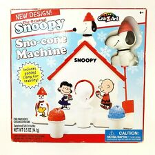 Original Snoopy Sno-Cone Machine Snow Cone Machine Christmas Peanuts by CraZArt