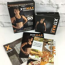 XTF MAX Women's Home Fitness 12 DVD Set 12 Workouts with Stephanie Oram
