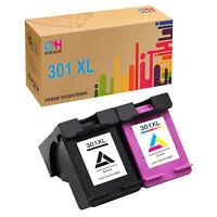 2x Druckerpatrone für HP 301 XL Deskjet 3000 1050 3050 2050 1010 1510 3054a