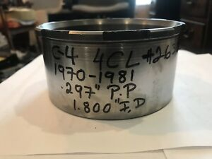 """Ford C4 Trans Direct Drum 4 Clutch 1970-82 2.687"""" Tall .297"""" PP # 26300D"""