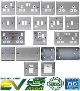 BG Metal Clad Switches & Sockets for Industrial, Garage, Workshop or Shed