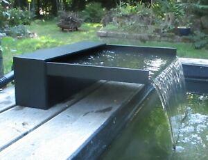WASSERFALL für Teich/Bachlauf 50cm , Lippe 30cm , Anschluss 75mm