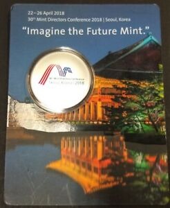 World Money Fair 2018 Berlin 30th Mintmasters Directors Conference Korea Colored