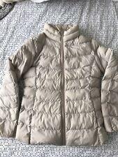 Uniqlo Girls Puffer Jacket - Beige - Size 10 (140cm)
