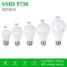1/10x e27 e14 Bombilla LED de ahorro de energía Luces globales 3-12w Frío/Caliente Blanca 110/220v