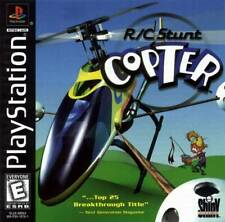 R/C Stunt Copter - PS1 PS2 Playstation Game
