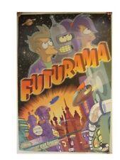 Futurama Poster Commercial Fry Bender Leela