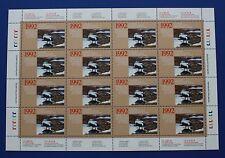 Canada (CN08) 1992 Wildlife Habitat Conservation Stamp Sheet (MNH)